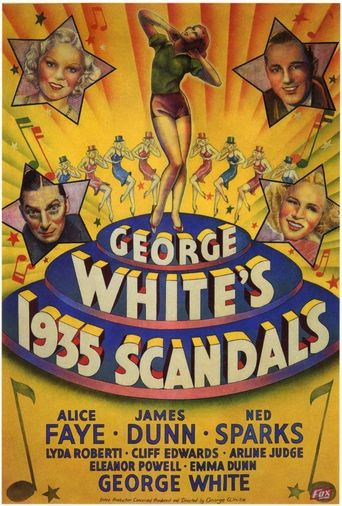 George White's 1935 Scandals Poster