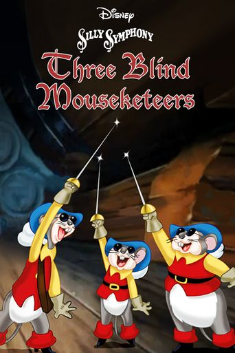 Three Blind Mouseketeers Poster