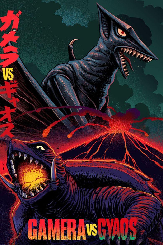 Gamera vs. Gyaos Poster