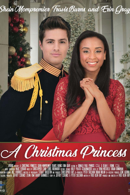A Christmas Princess Poster