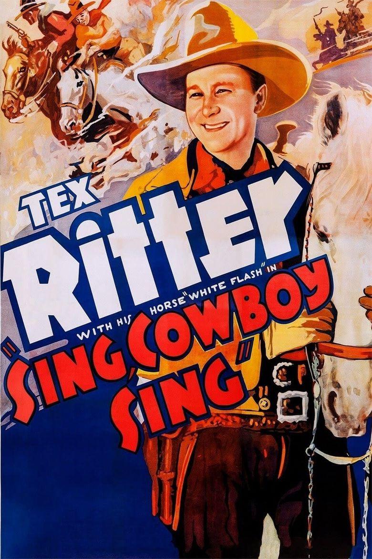 Sing Cowboy Sing Poster