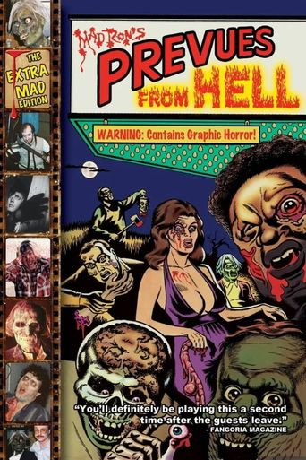 Mad Ron's Prevues from Hell Poster