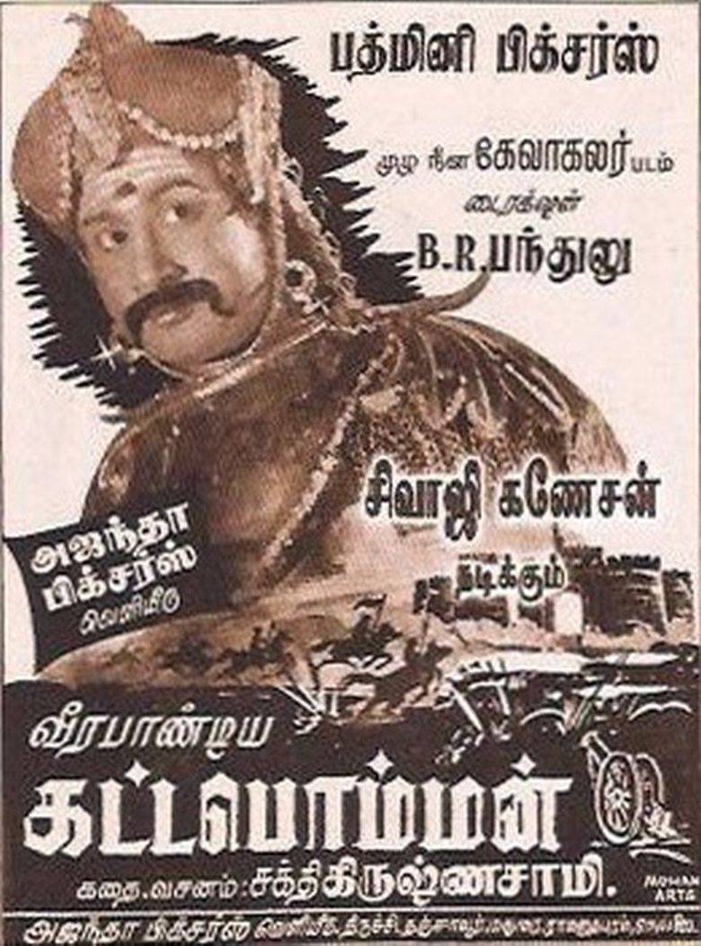 Veerapandiya Kattabomman Poster