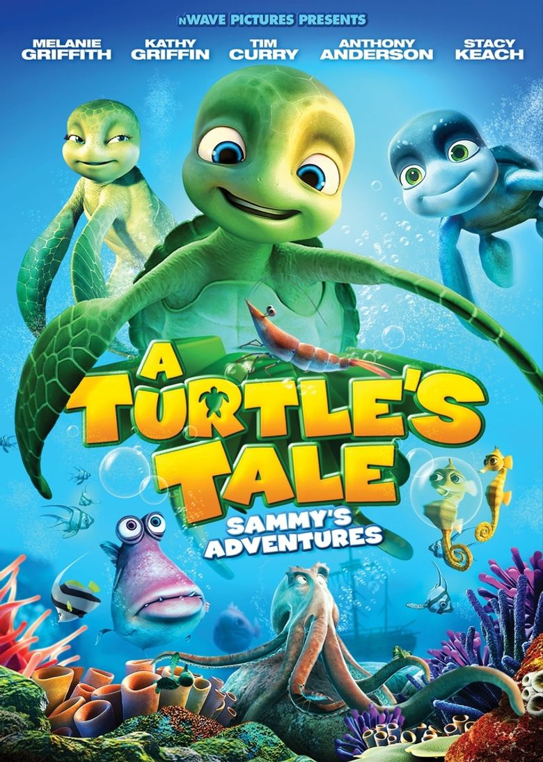 A Turtle's Tale: Sammy's Adventures Poster