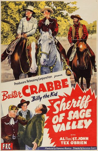 Sheriff Of Sage Valley Poster