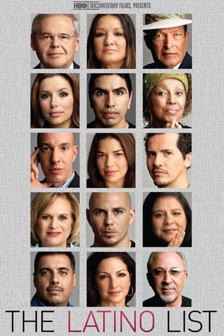 The Latino List Poster