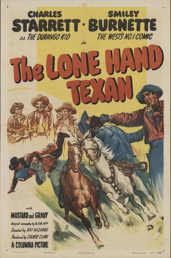 The Lone Hand Texan Poster