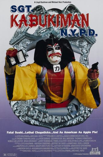 Watch Sgt. Kabukiman N.Y.P.D.