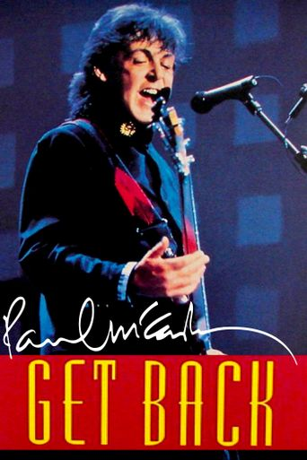 Paul McCartney's Get Back Poster