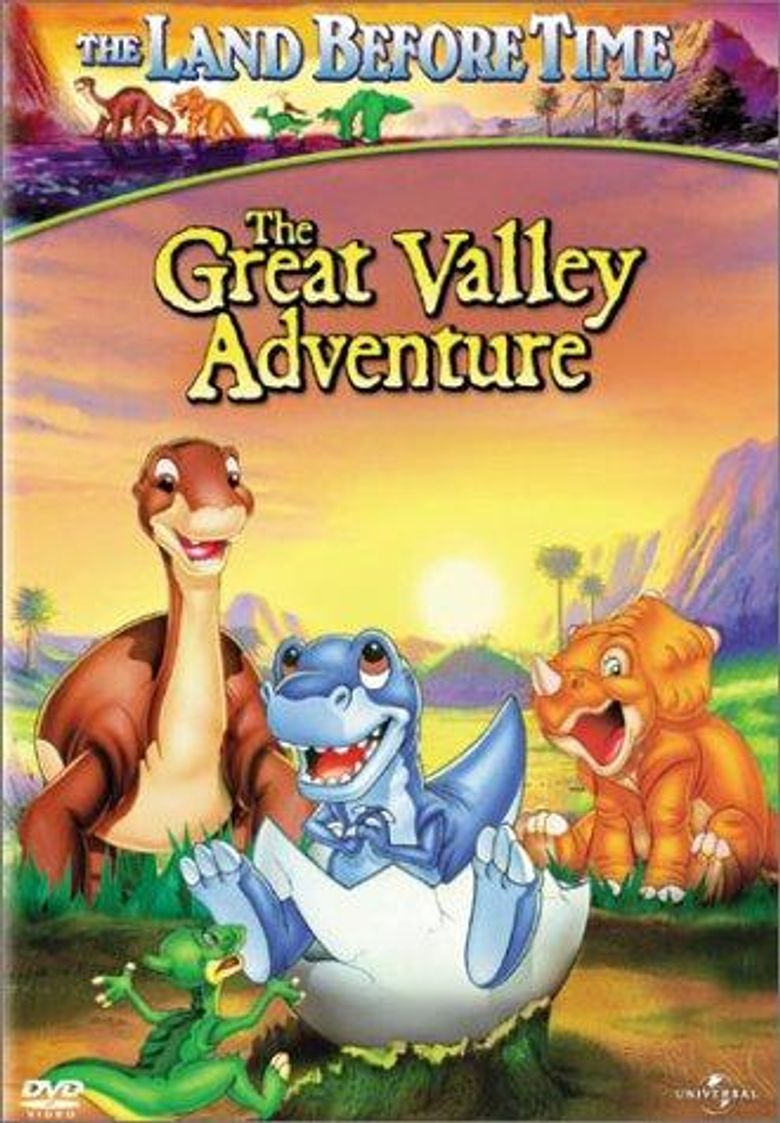 The Land Before Time: The Great Valley Adventure Poster