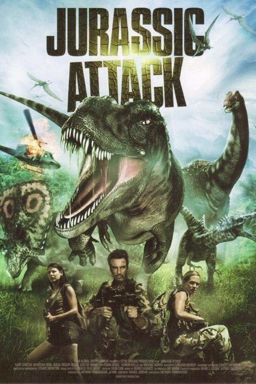 Jurassic Attack Poster
