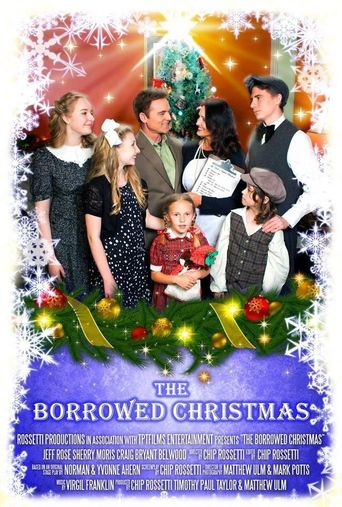 The Borrowed Christmas Poster