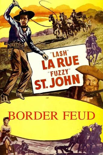 Border Feud Poster