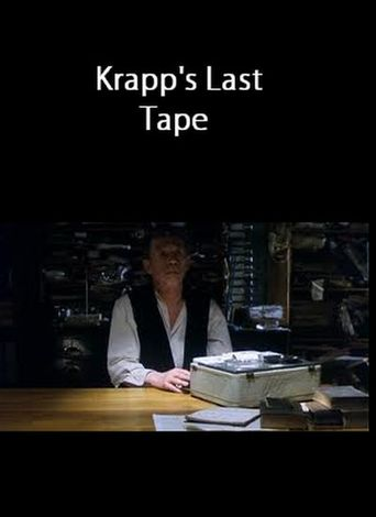 Krapp's Last Tape Poster