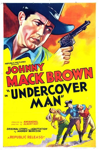 Undercover Man Poster