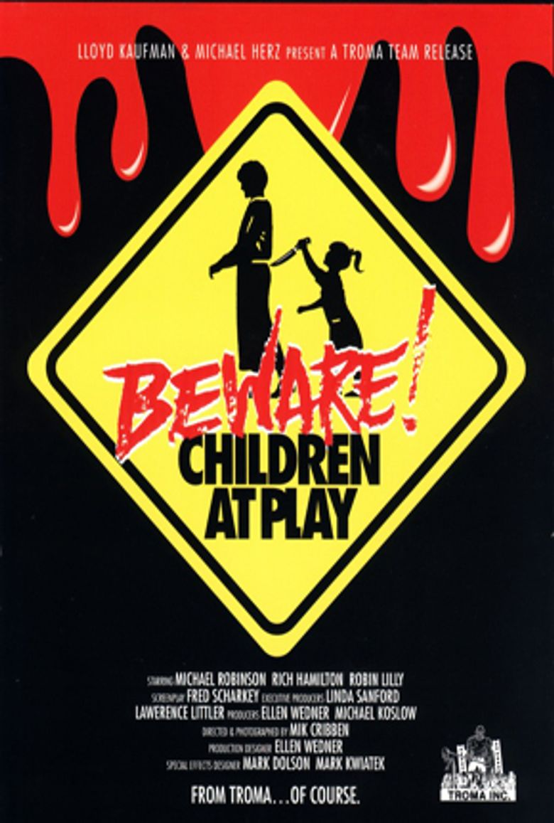 Beware: Children At Play Poster