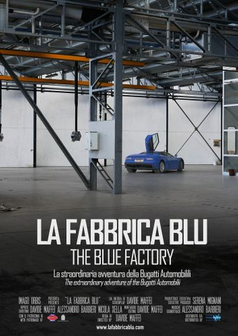 The Blue Factory Poster