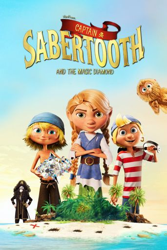 Captain Sabertooth and the Magical Diamond Poster