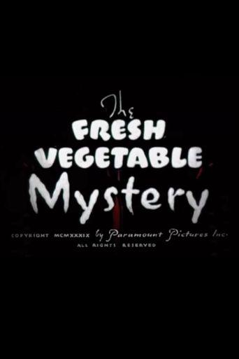 The Fresh Vegetable Mystery Poster