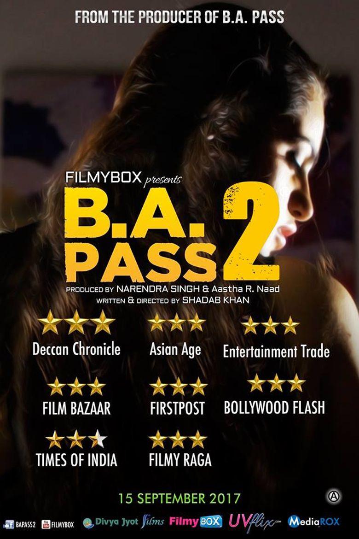 B. A. Pass 2 Poster