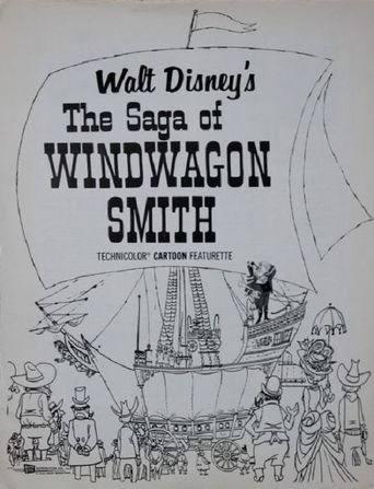 The Saga of Windwagon Smith Poster