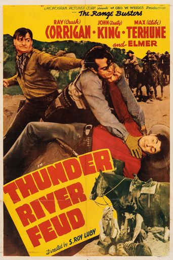 Thunder River Feud Poster