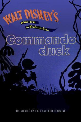 Commando Duck Poster