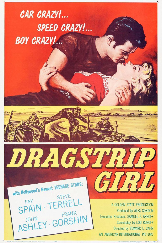 Dragstrip Girl Poster