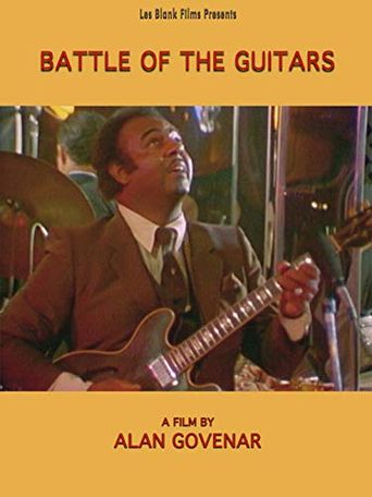 Battle of the Guitars Poster