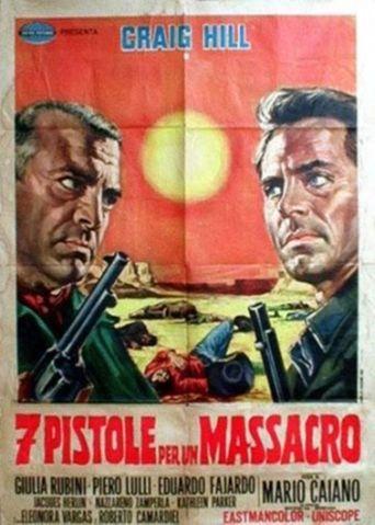 Seven Pistols for a Massacre Poster