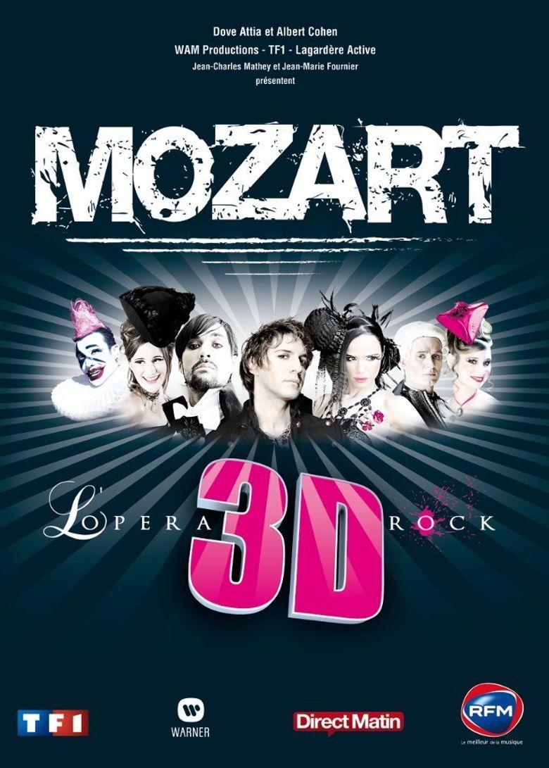 Mozart l'opéra Rock 3D Poster