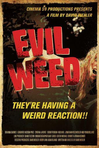 Evil Weed Poster