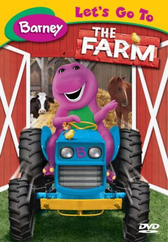 Barney: Let's Go To The Farm Poster