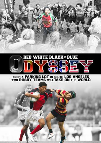 Red White Black & Blue Odyssey Poster
