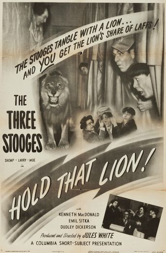 Hold That Lion! Poster