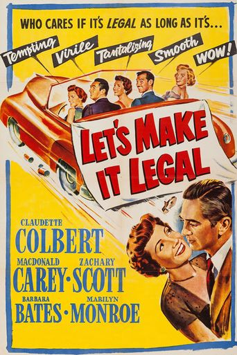 Let's Make It Legal Poster