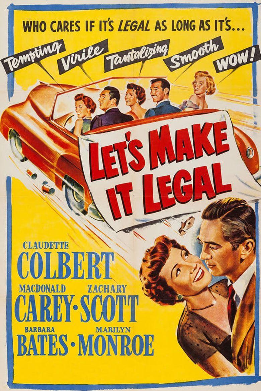 Let's Make It Legal Poster