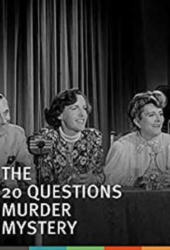 The Twenty Questions Murder Mystery Poster