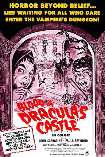 Blood of Dracula's Castle Poster