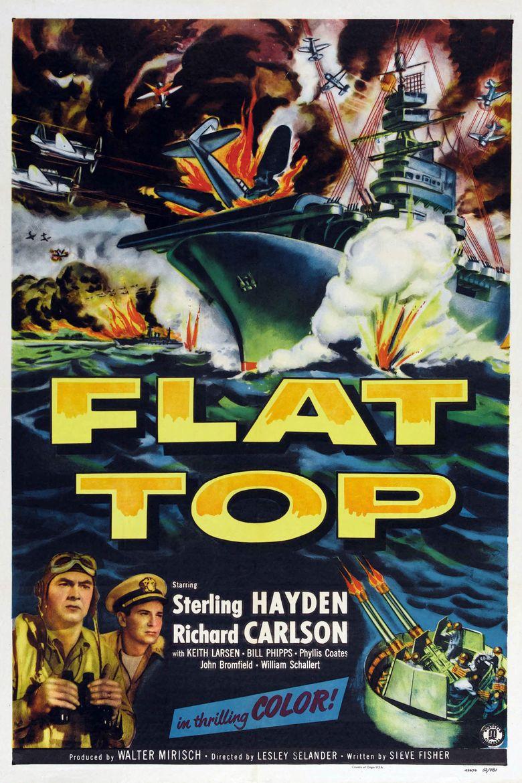 Flat Top Poster