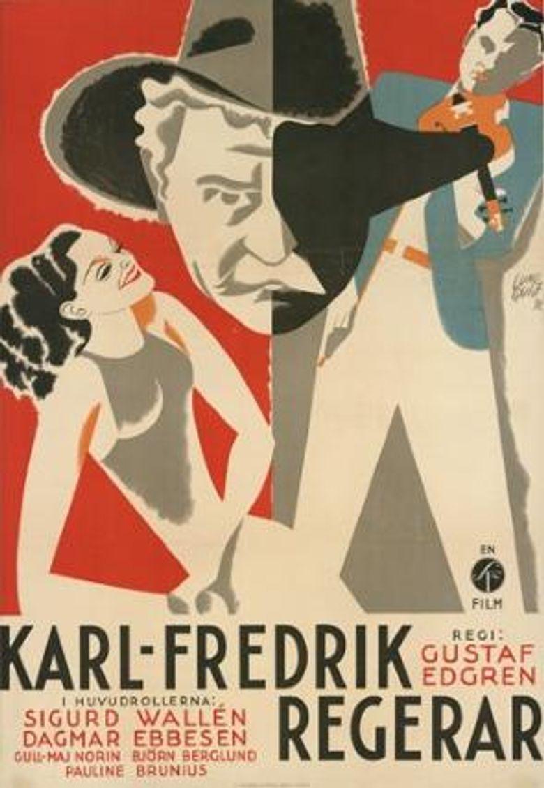 Karl Fredrik Reigns Poster