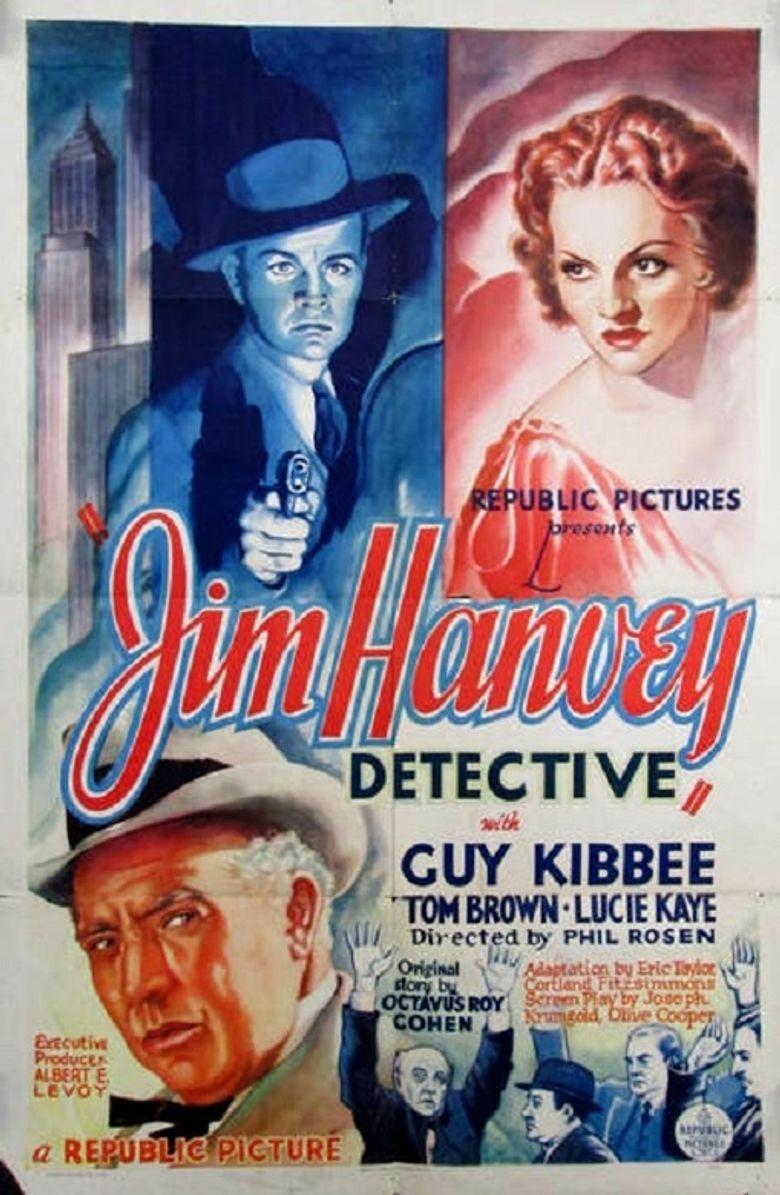 Jim Hanvey, Detective Poster