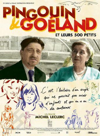 Pingouin & Goéland et leurs 500 petits Poster