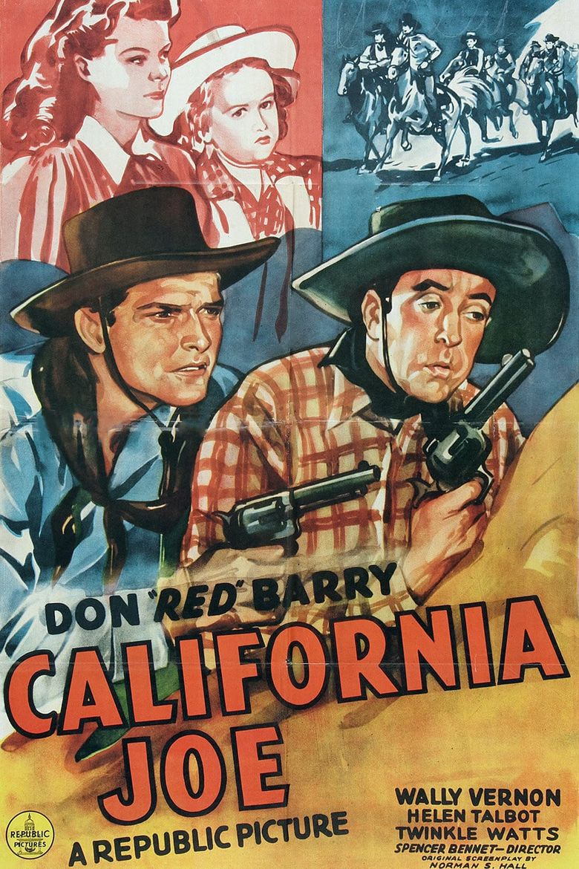 California Joe Poster