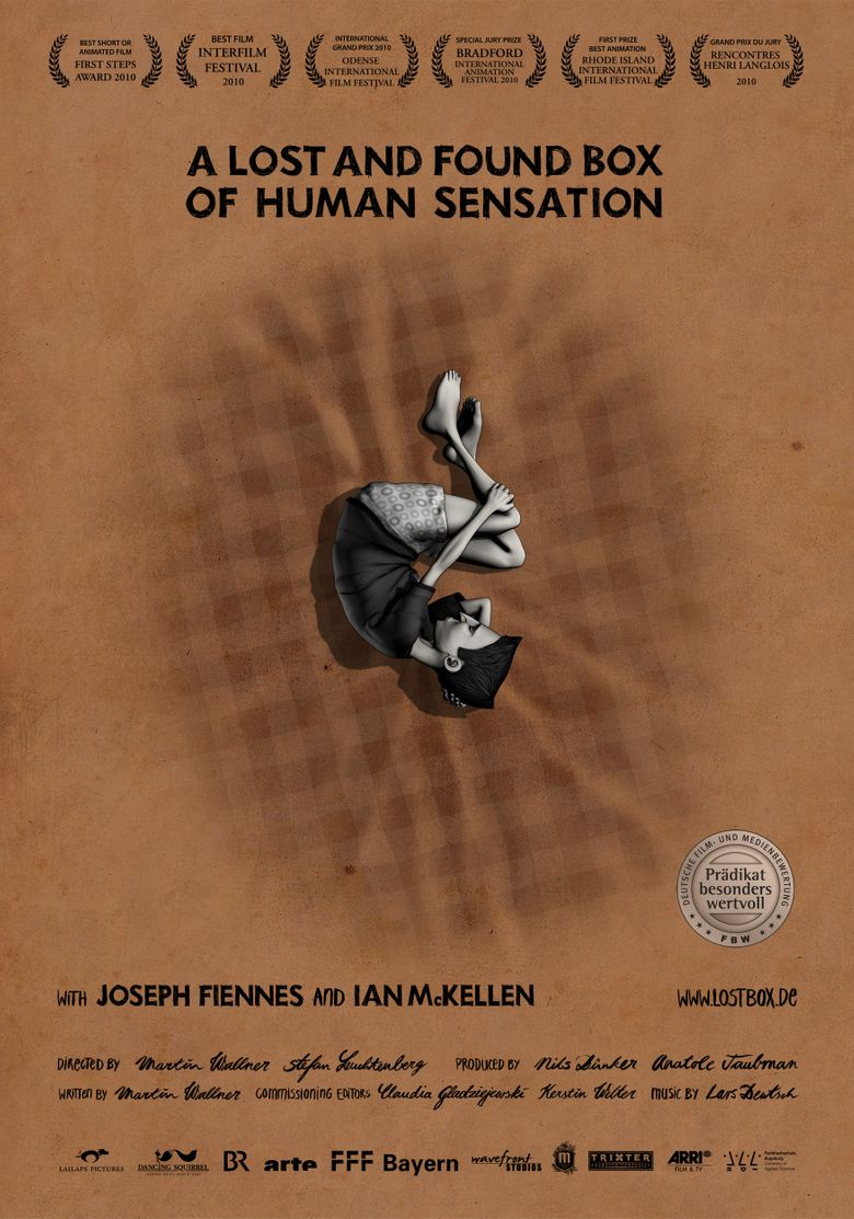 A Lost and Found Box of Human Sensation Poster
