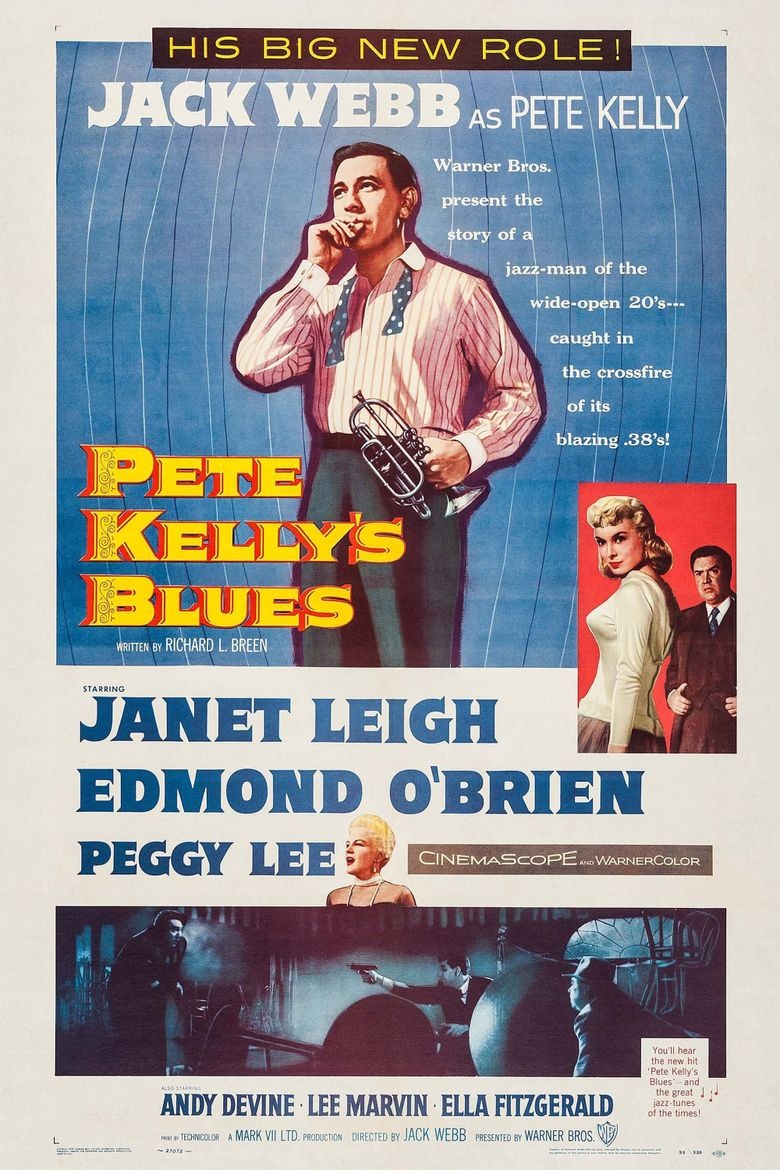 Pete Kelly's Blues Poster
