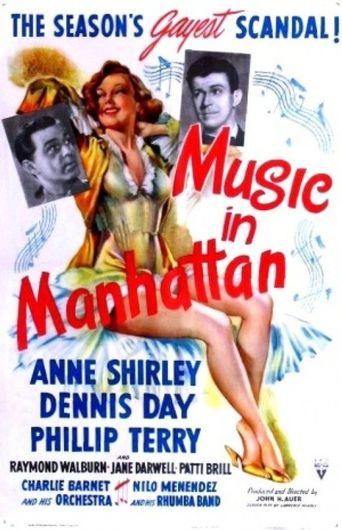Music in Manhattan Poster