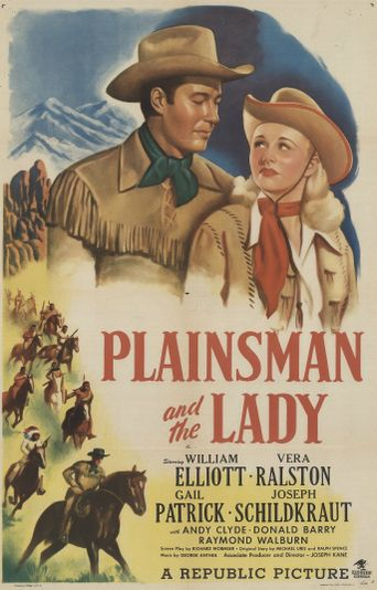The Plainsman and the Lady Poster
