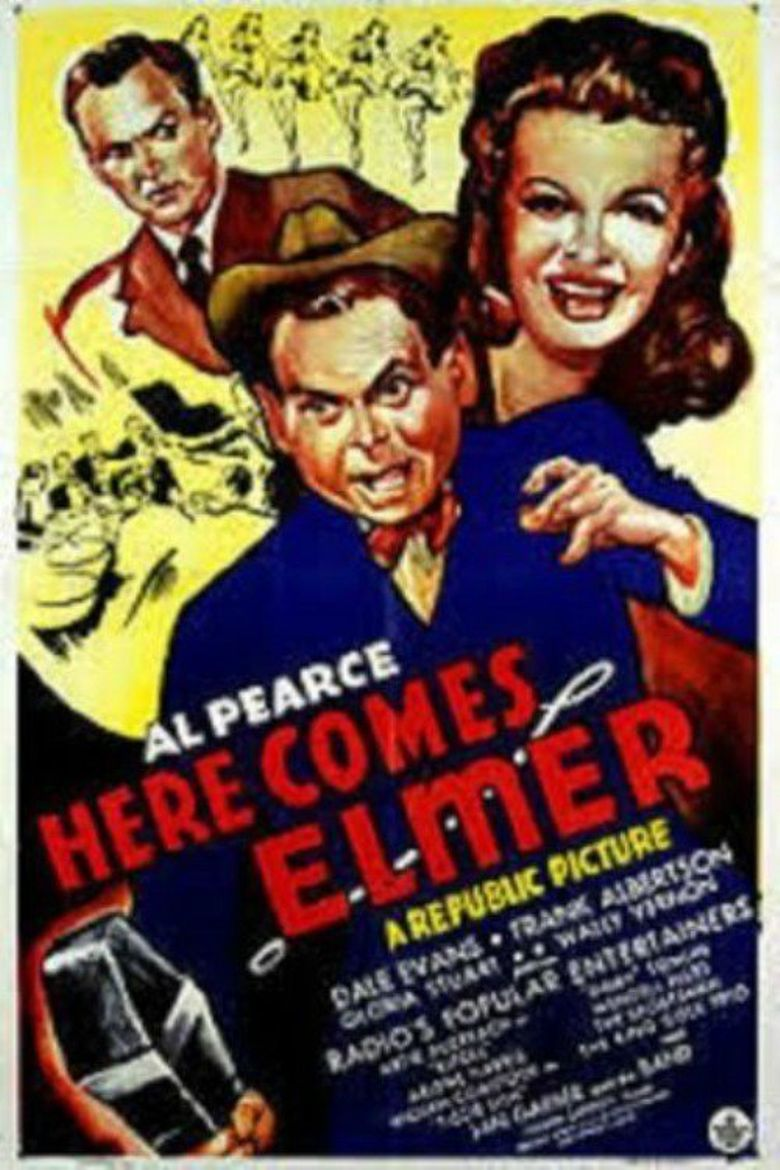 Here Comes Elmer Poster