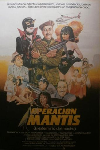 Operation Mantis Poster